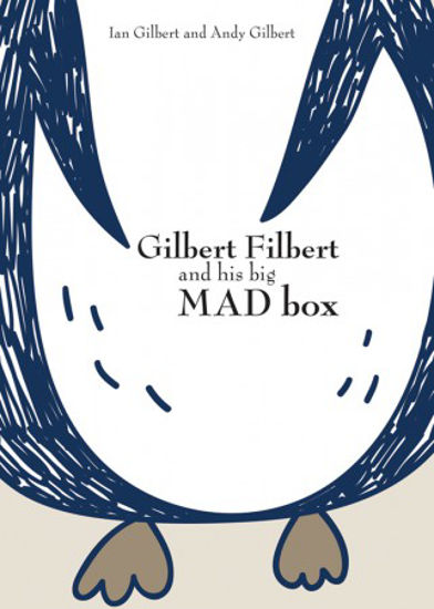 Picture of Gilbert Filbert and his big MAD box