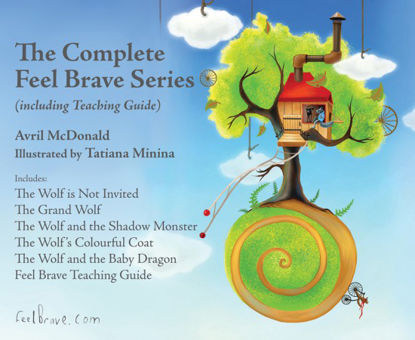 Picture of The Complete Feel Brave Series (including Teaching Guide)